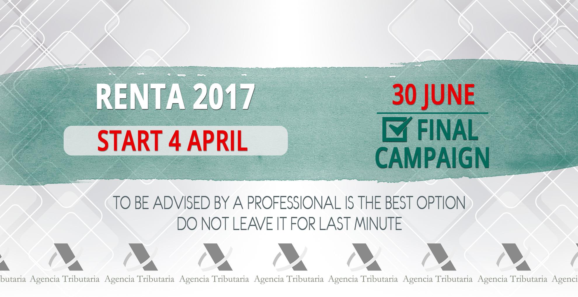 renta 2017 english